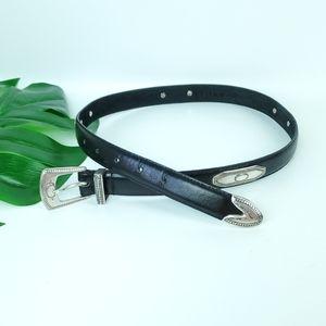 RITZ Genuine Leather Vintage Western Belt EUC!